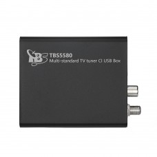 TBS5580 Multi-standard Universal TV Tuner CI USB Box