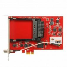 TBS6290SE DVB-T2/T/C Dual Tuner Dual CI PCIe Card