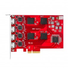 TBS6314 Quad HD HDMI Raw Data Video Capture Card