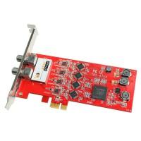 TBS6704 ATSC/ Clear QAM Quad Tuner PCIe Card