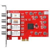 TBS6904SE DVB-S2X Quad Tuner PCIe Card