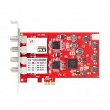 TBS6908 Professional DVB-S2 Quad Tuner Card PCIe