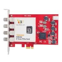TBS6909 DVB-S2 8 Tuner PCIe Card