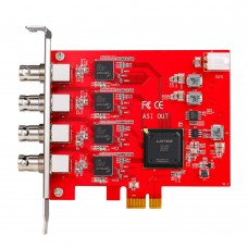 TBS690B Quad DVB ASI Output Transmit PCIe Card